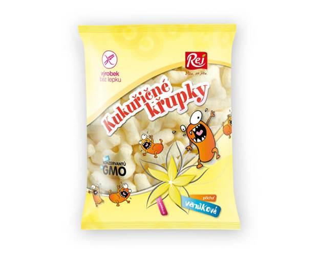 Kukuřičné křupky vanilkové 90g (z41511) od www.prozdravi.cz