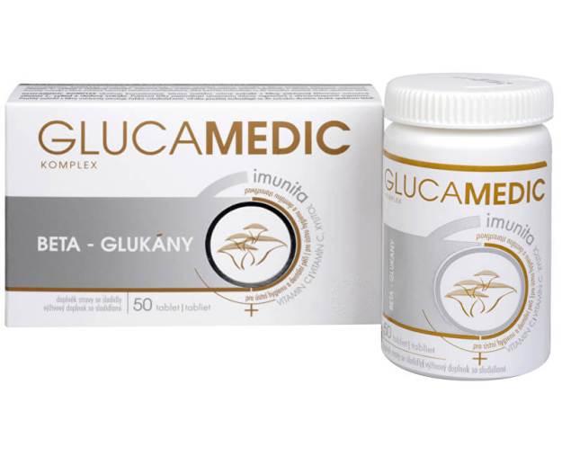 Glucamedic komplex 50 tbl. (z43547) od www.prozdravi.cz