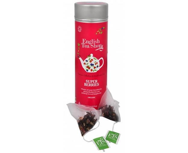 Super ovocný čaj Rooibos a červené ovoce - plechovka s 15 bioodbouratelnými pyramidkami (z43352) od www.prozdravi.cz