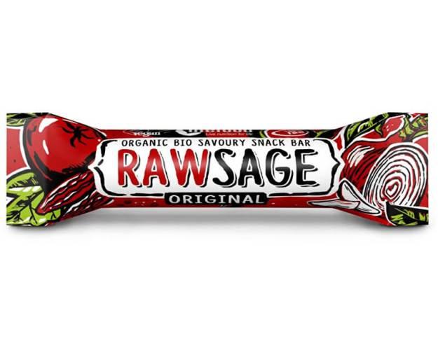 Bio tyčinka Rawsage original - snack bar pikantní  25g (z44381) od www.prozdravi.cz