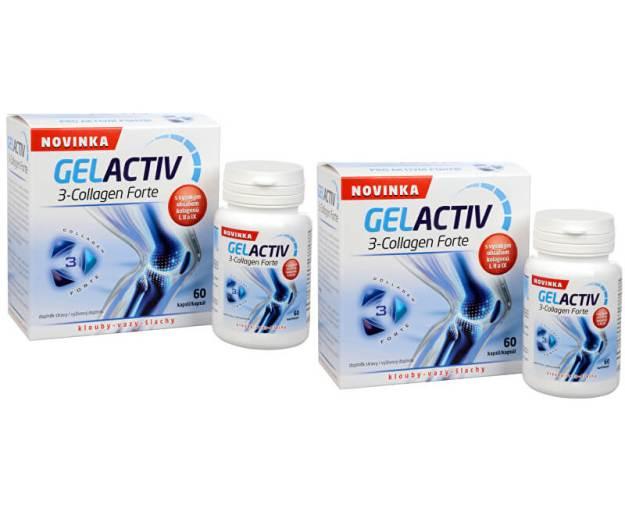 Gelactiv 3-Collagen Forte 60 kapslí + 60 kapslí ZDARMA (z48642) od www.prozdravi.cz