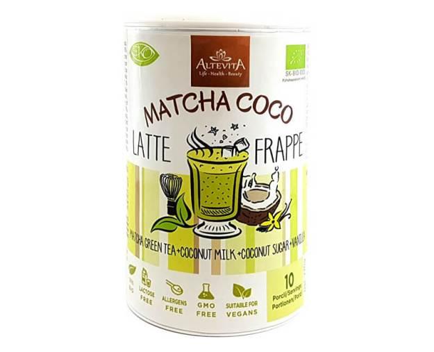 Bio Matcha coco latte/frappe 220g (z49920) od www.prozdravi.cz
