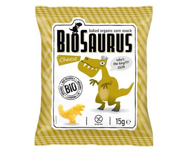 Bio Biosaurus křupky se sýrem 15g (z49935) od www.prozdravi.cz