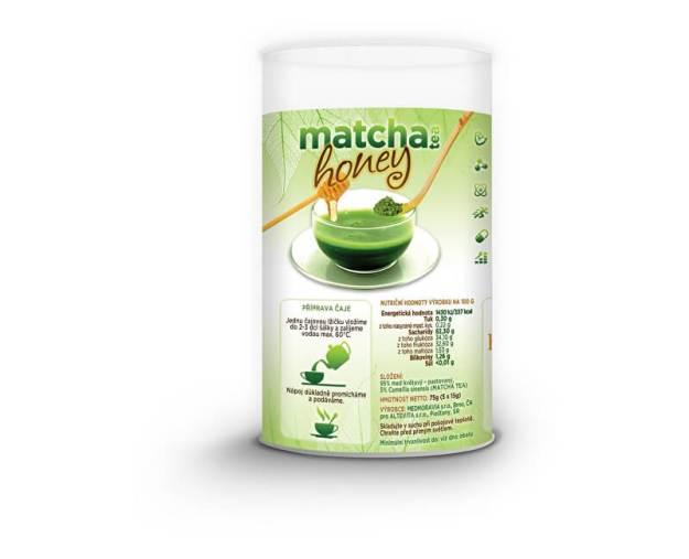 Matcha honey 5x15g Tubus (z49578) od www.prozdravi.cz