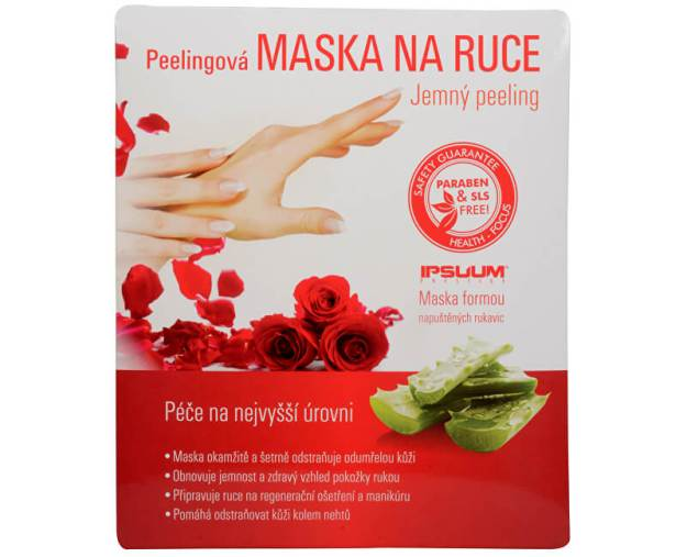 Ipsuum Prestige Peelingová maska na ruce - rukavice (z49519) od www.kosmetika.cz