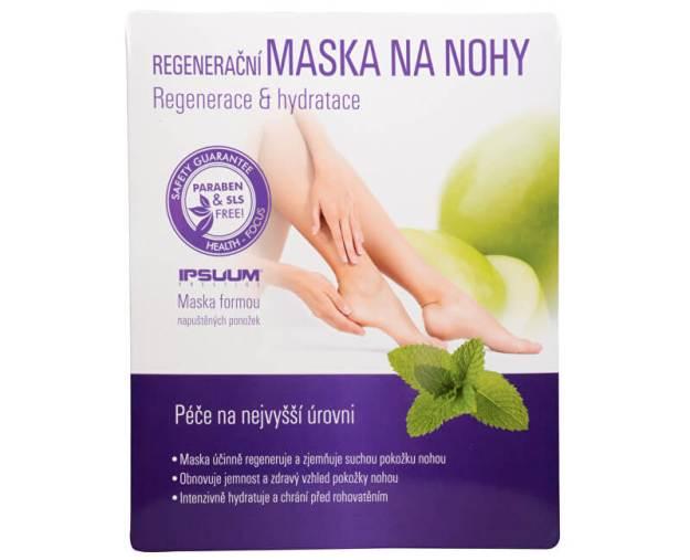 Ipsuum Prestige Regenerační maska na nohy - ponožky (z49520) od www.kosmetika.cz