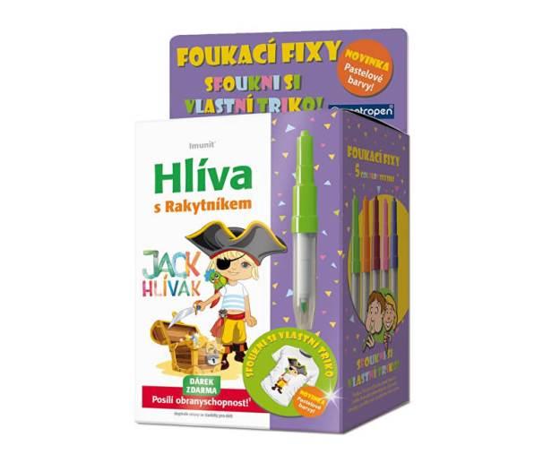 Hlíva Jack Hlívák pro děti 60 tablet + foukací fixy na textil (z52387) od www.prozdravi.cz