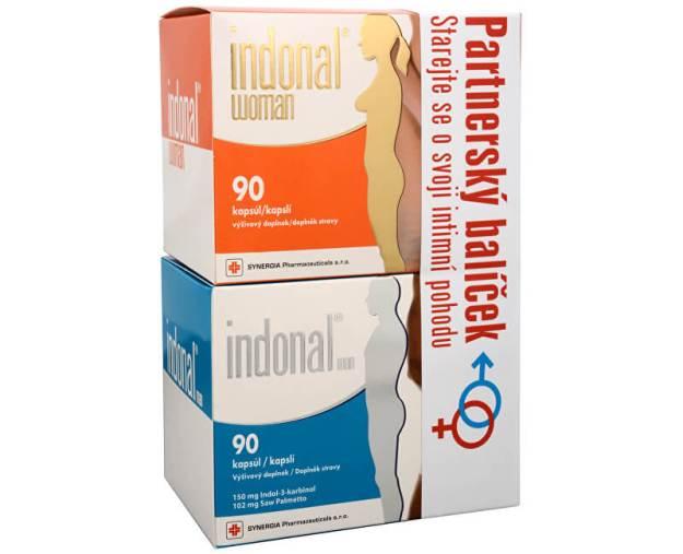 Synergia Indonal man 90 kapslí + Indonal woman 90 kapslí (z52366) od www.kosmetika.cz