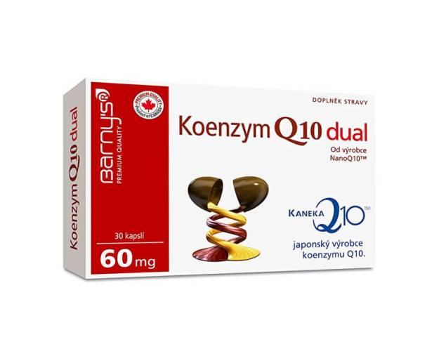 Barny´s Koenzym Q10 dual 30 kapslí (z54000) od www.kosmetika.cz
