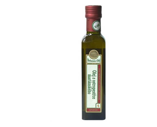 Olej z ostropestřce mariánského 250ml - nefiltrovaný (z53563) od www.prozdravi.cz