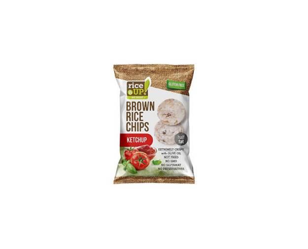 Rýžové chipsy s kečupem 60g (z53387) od www.prozdravi.cz