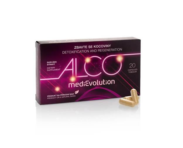 MediEvolution Alco Evolution 20 kapslí (z54754) od www.kosmetika.cz