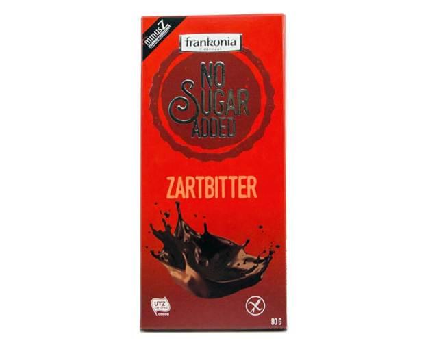 Hořká čokoláda bez přidaného cukru 80g (z54764) od www.prozdravi.cz