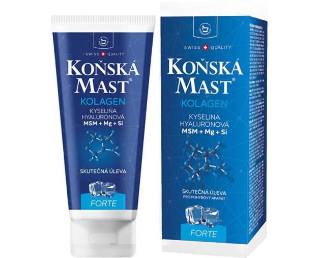 Koňská mast s mořským kolagenem chladivá 200 ml (z54019) od www.prozdravi.cz
