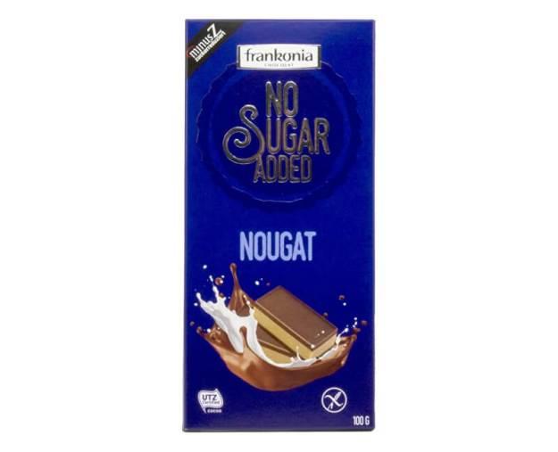 Nugátová čokoláda bez přidaného cukru 100g (z54768) od www.prozdravi.cz