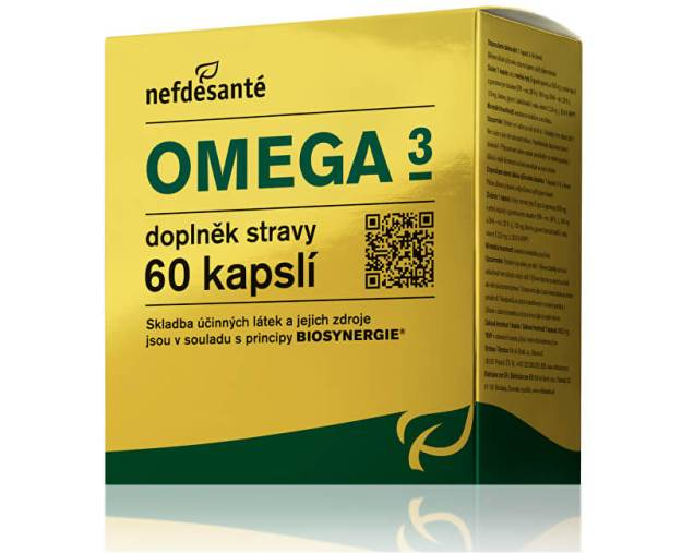 NefdeSanté Omega 3 60 kapslí (z54615) od www.kosmetika.cz