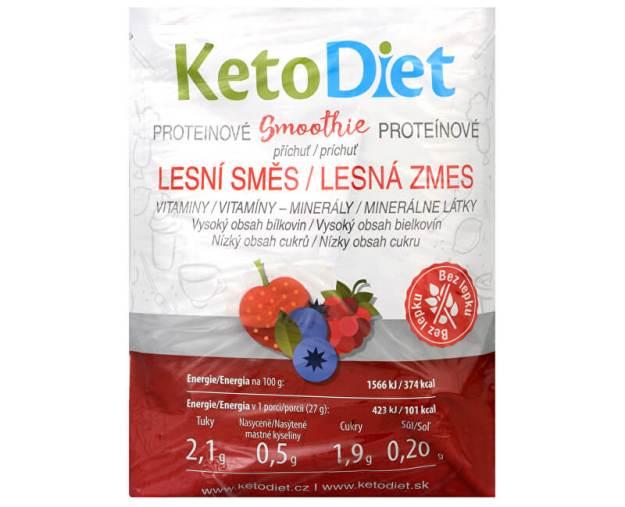 Proteinové smoothie příchuť lesní směs 7 x 27 g (z54856) od www.prozdravi.cz