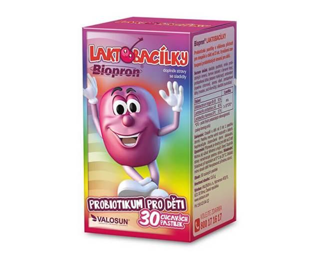 Biopron Laktobacílky 30 pastilek (z55695) od www.prozdravi.cz
