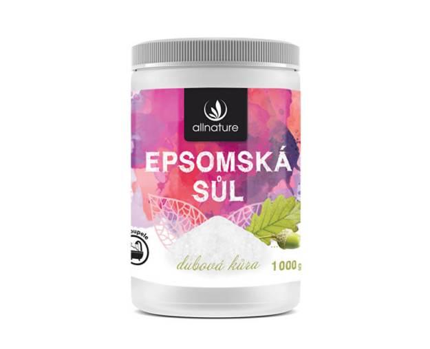 Epsomská sůl dubová kůra 1000 g (z55338) od www.prozdravi.cz