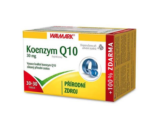 Koenzym Q10 30 mg 30 tob. + 30 tob. ZDARMA (z55817) od www.prozdravi.cz