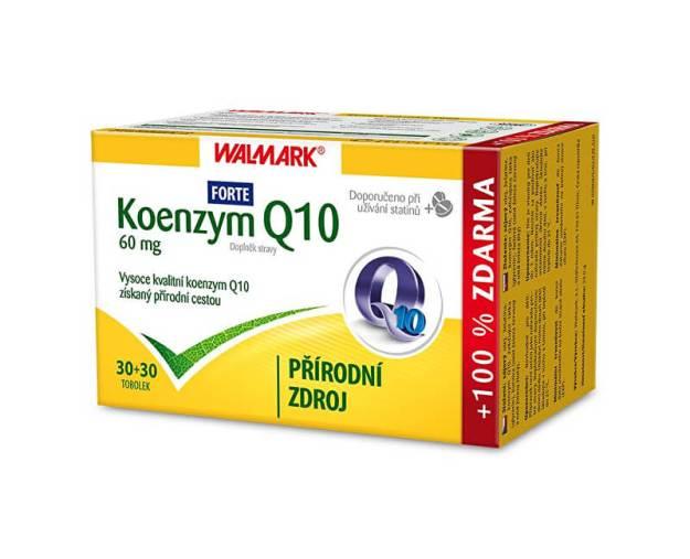 Koenzym Q10 Forte 60 mg 30 tob. + 30 tob. ZDARMA (z55819) od www.prozdravi.cz