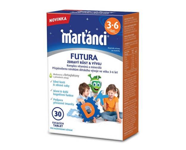 Marťánci Futura (3-6 let) 30 tbl. (z55714) od www.prozdravi.cz