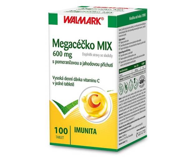 Megacéčko 600 mg MIX 100 tbl. (z55823) od www.prozdravi.cz