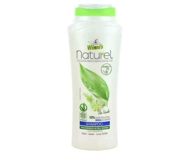 NATUREL Shampoo The Verde šampon se zeleným čajem pro všechny druhy vlasů 250 ml (z55323) od www.prozdravi.cz