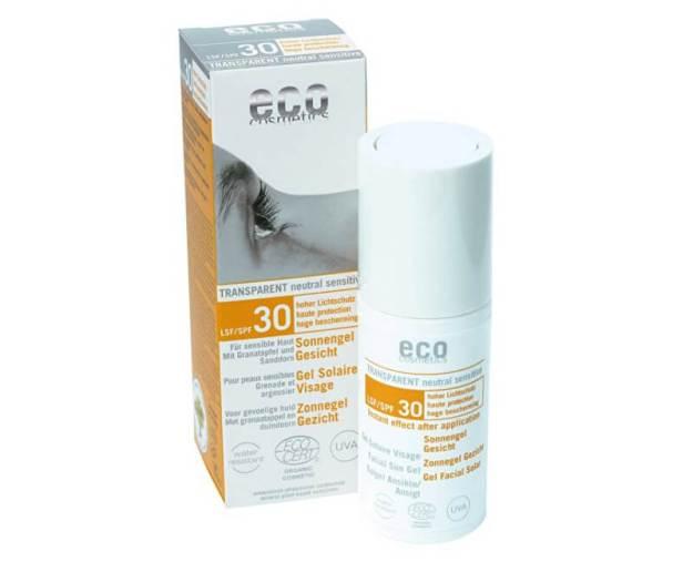Opalovací transparentní gel na obličej SPF 30(30ml) (z55266) od www.prozdravi.cz