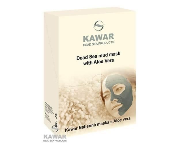 Pleťová maska s aloe vera a minerály z Mrtvého moře 4 x 75 g sáčků v krabičce (z55453) od www.prozdravi.cz