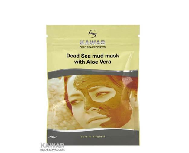 Pleťová maska s aloe vera a minerály z Mrtvého moře 75 g sáček (z55452) od www.prozdravi.cz