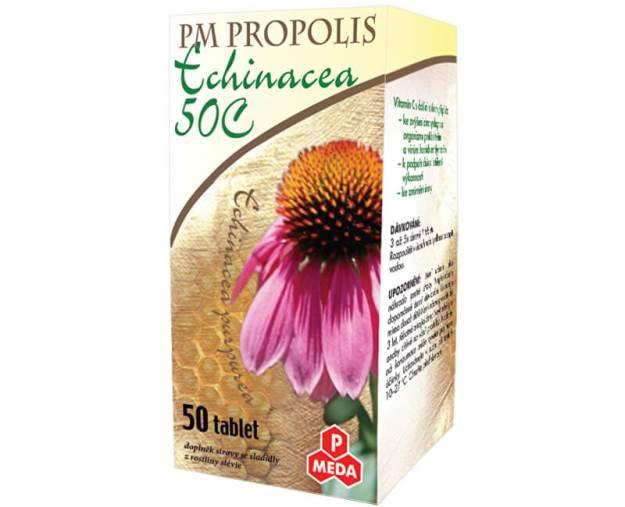PM Propolis Echinacea 50 tablet (z55277) od www.prozdravi.cz