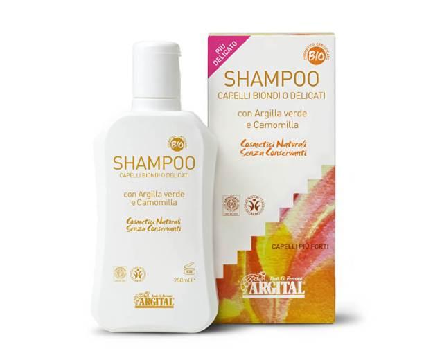 Rozjasňující šampon na blond a jemné vlasy s heřmánkem 250 ml (z55039) od www.prozdravi.cz