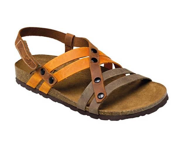 Zdravotní obuv dámská IB/7200 hnědo-oranžová (z55431) od www.prozdravi.cz