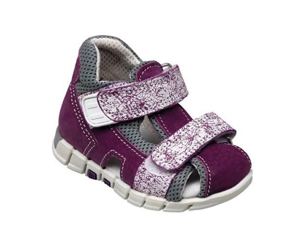 Zdravotní obuv dětská N/810/401/S75/A75 fialová (vel. 19-26) (z55617) od www.prozdravi.cz