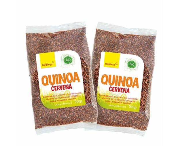 Quinoa červená BIO (z56501) od www.prozdravi.cz