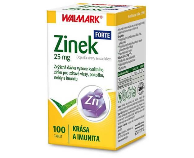 Walmark Zinek FORTE 25 mg 100 tbl. - SLEVA - bez krabičky (zSLEVA0901) od www.kosmetika.cz