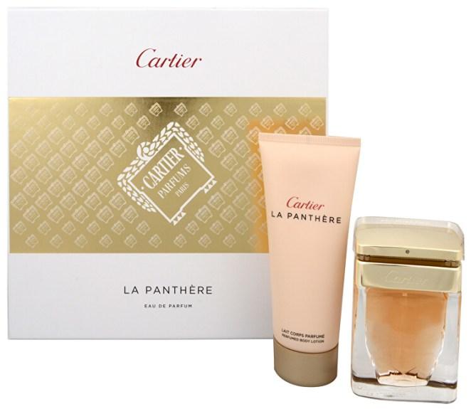 Cartier La Panthere - EDP 50 ml + tělové mléko 100 ml