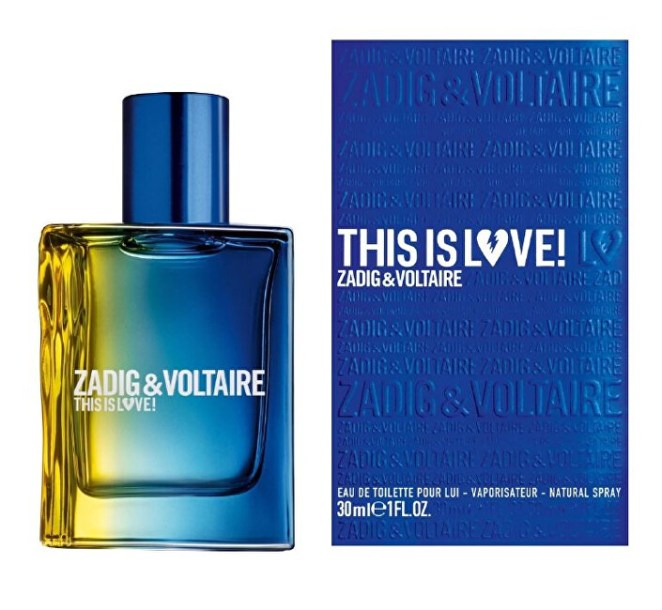 Zadig & Voltaire This is Love! for him - EDT 100 ml