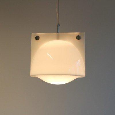 44,00 x 88,00 x 44,00 cm. Sirio Hanging Lamp By Harvey Guzzini For Guzzini 1960s 10695