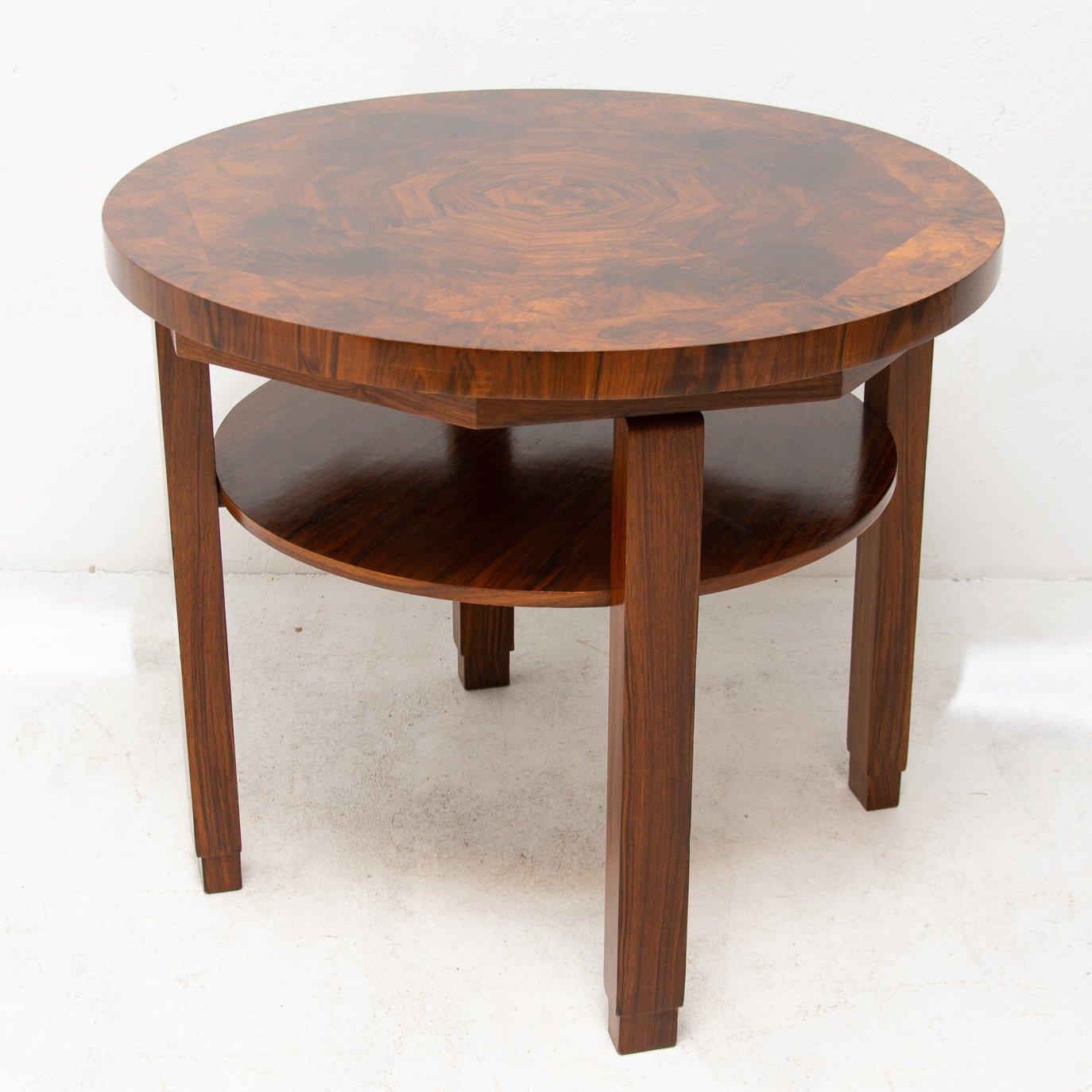 art deco coffee table 1930s