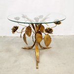 Midcentury Gold Gilded Coffee Table By Hans Kogl 1960s 142373