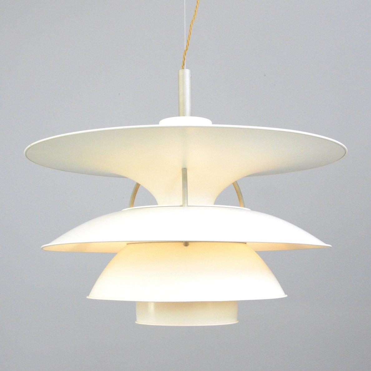 model ph6 pendant light by louis poulsen circa 1960s