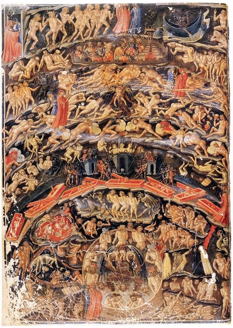 Resultado de imagen de infierno de dante