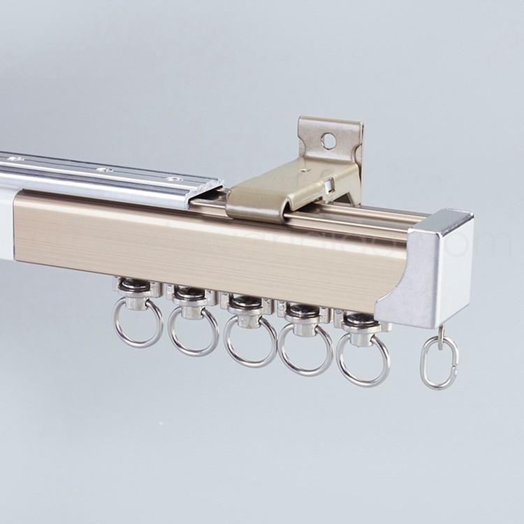 supply flexible pull curtain rail track