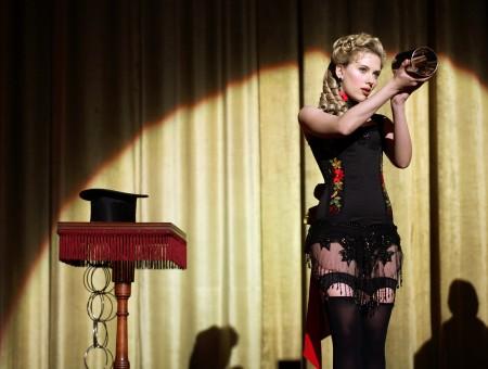 Scarlett Johansson In Black Lingerie Wallpapers Every Day