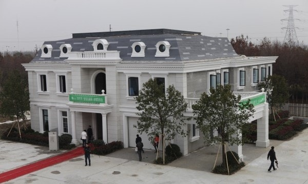 WinSuns 3D printed villa has several rooms and has been deemed to be up to Chinas national safety standards. Credit: 3ders.org