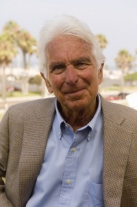 Warren Bennis, in a publicity photo from the University of Southern California, the last of several academic institutions where he taught, or lead the entire school.