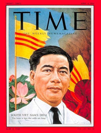 South Vietnamese president Diem. (TIME)