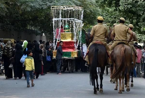 Ashura procession, Delhi